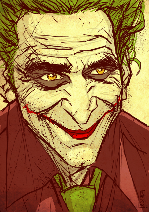 The Joker by Vranckx