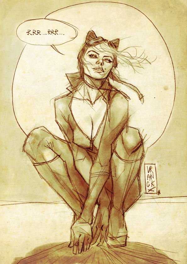 Catwoman by Vranckx