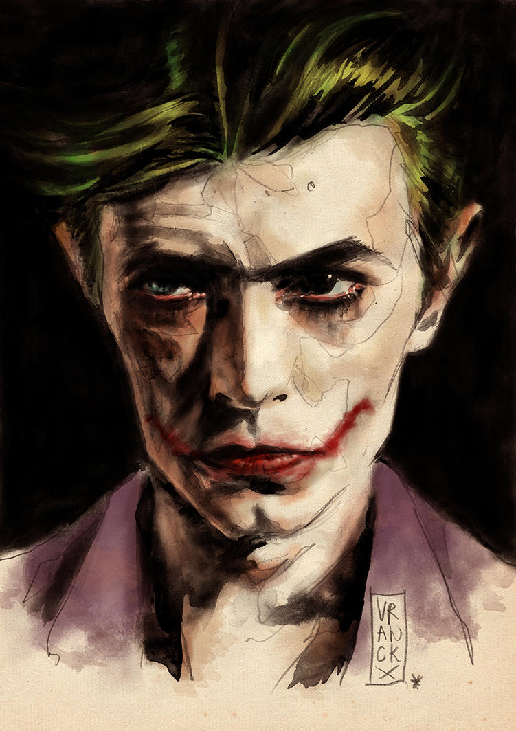 Bowie is The Joker! Let's dance... by Vranckx
