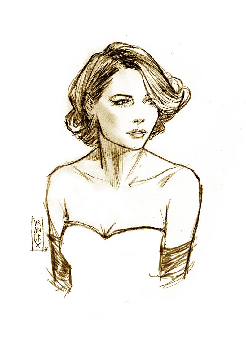 Gala Girl by Vranckx