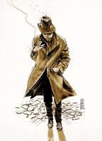 Tom Waits by Vranckx