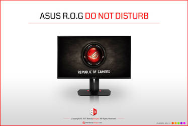 ASUS R.O.G [DO NOT DISTURB]