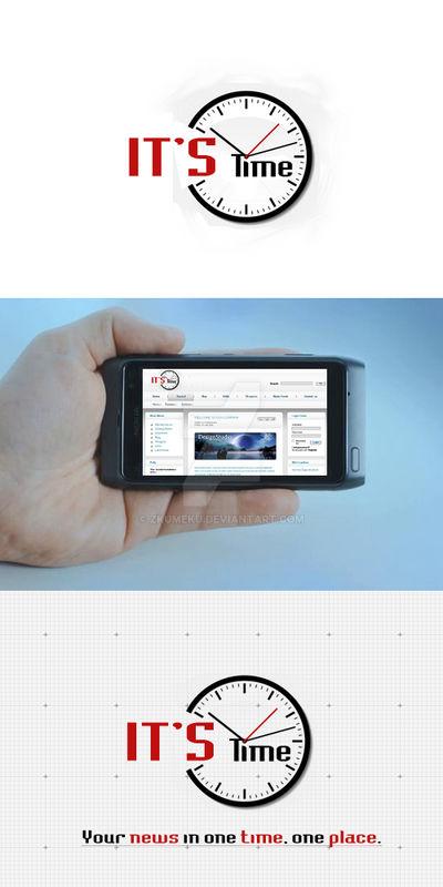 News Portal Logo 'It's Time'