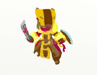 Spiral Knights - Warrior