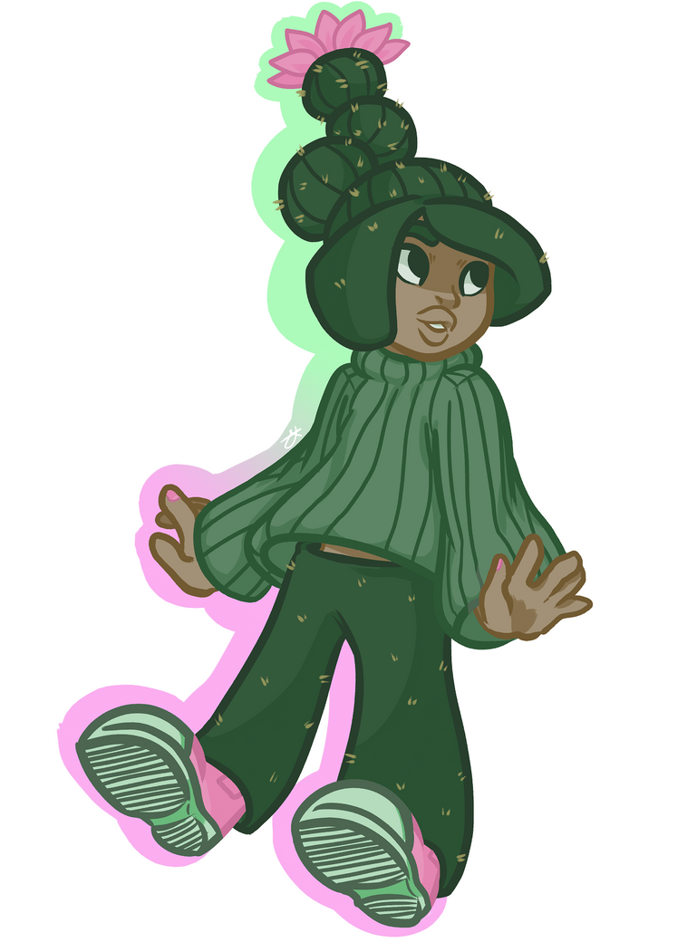 my cacti child by alyykeavvylo