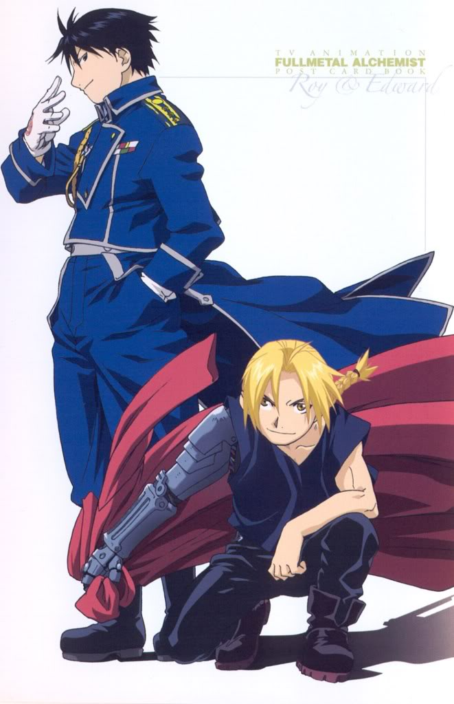 edward elric and roy mustangdenny364r74 on deviantart