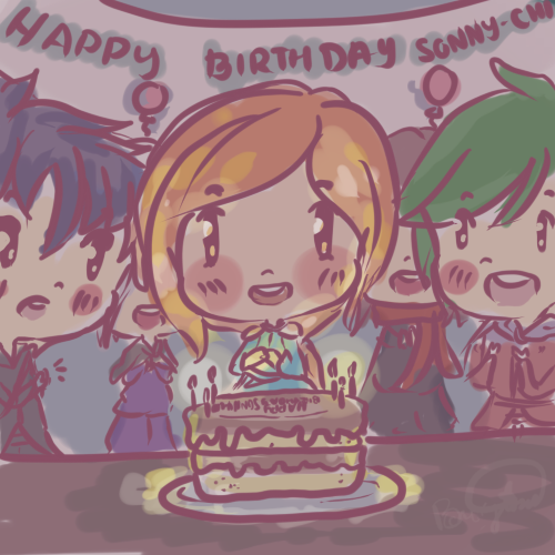 Happy birthday Sonny-chi!! by Eu-saama