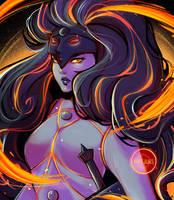 FANART!: Obsidian (Steven Universe) by Maejuri