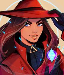 FANART!: Carmen Sandiego by Maejuri