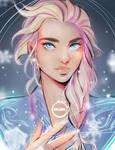 FANART!: Elsa ( Frozen 2) -Redraw-