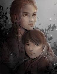 A Plague Tale: Innocence FANART! - Amicia and Hugo by Maejuri