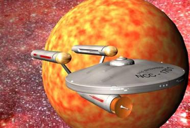U.S.S Enterprise NCC-1701 by Innocent-Jay