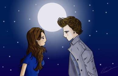 Bella and Edward by Twilight by Innocent-Jay