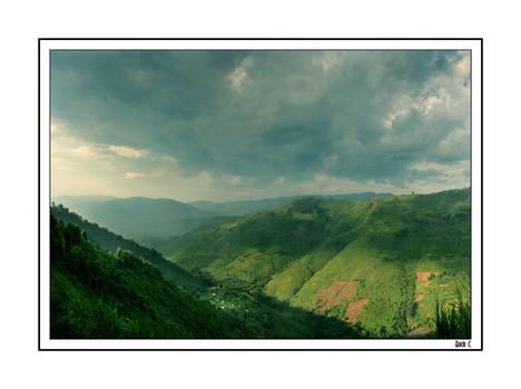 Kisoro hills