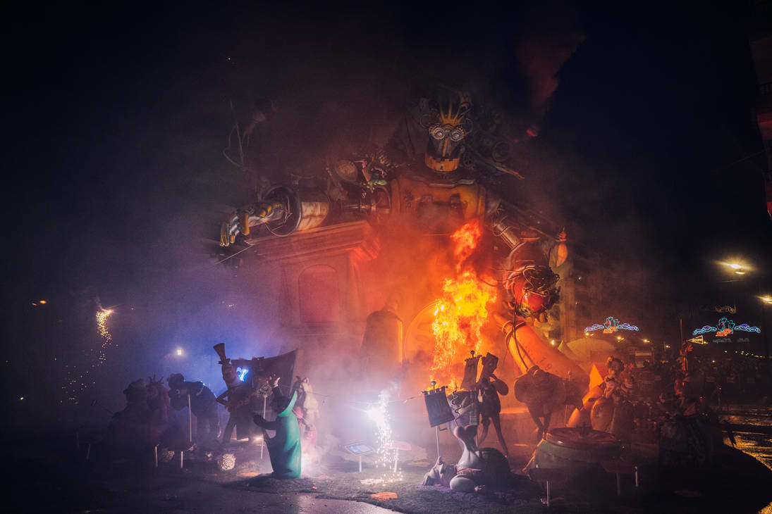 Robbie in Flames by BaciuC