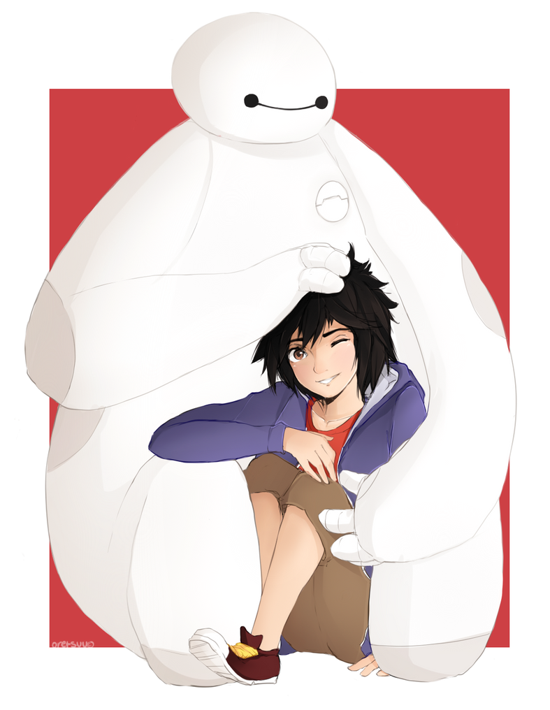 ask hiro and baymax relationship