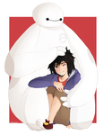 Hiro + Baymax