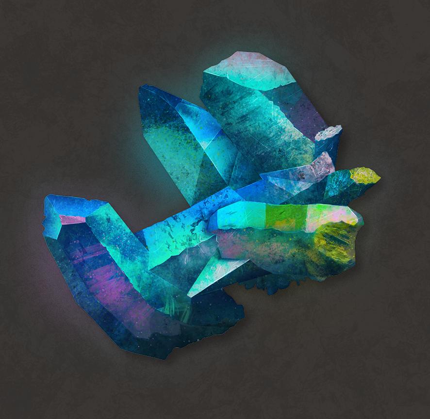 study crystal by KrisSsApple