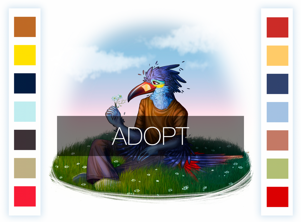 Birb adopt [close] by KrisSsApple