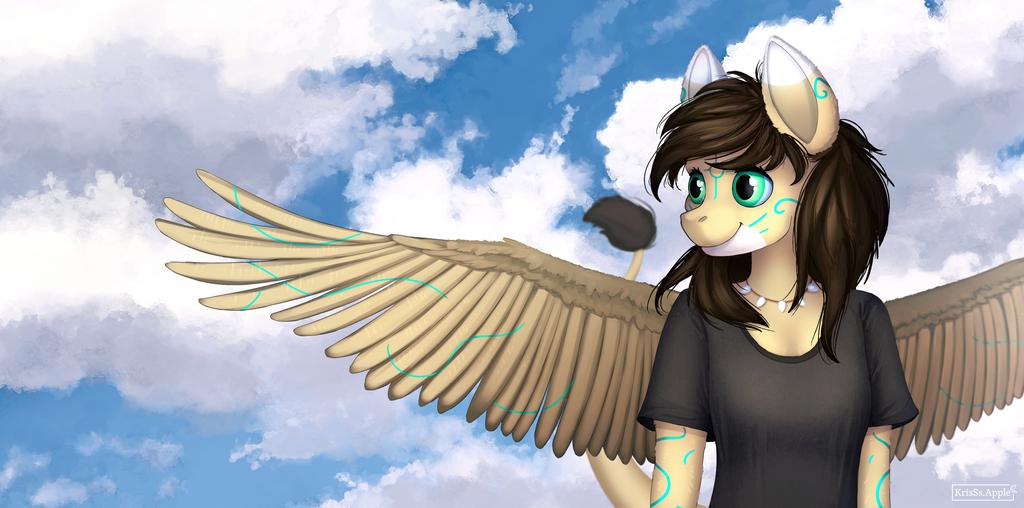 YCH Pony sky by KrisSsApple