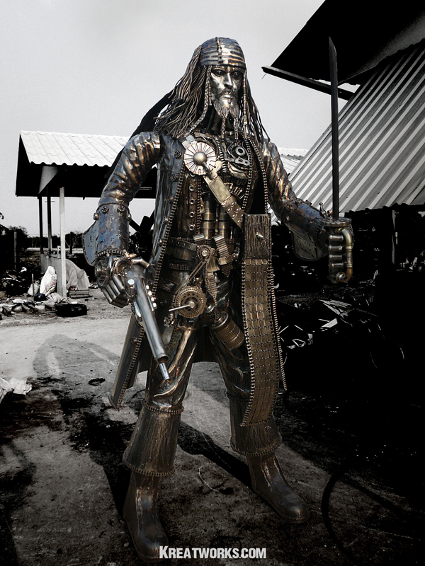 Steampunk Jack Sparrow by Kreatworks