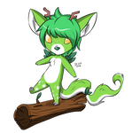 :: Commission :: DoughADeer - Chavvot by ArtsyxFox