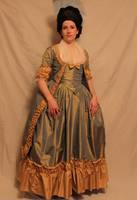 Robe a la Polonaise Front by ColeV
