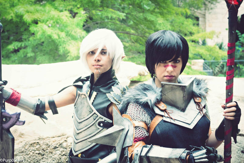 Nothing will keep me from your side - Dragon Age 2 by nekomatalee
