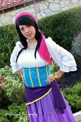 Esmeralda - Hunchback of Notre Dame by nekomatalee