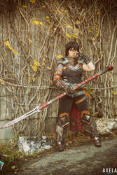 Here Lies the Abyss - Hawke - Dragon Age 2 by nekomatalee