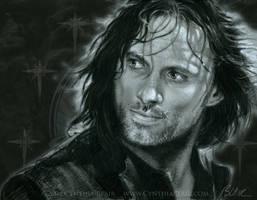 Aragorn Viggo Mortensen by Cynthia-Blair