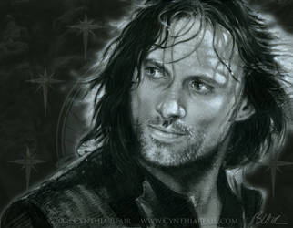 Aragorn Viggo Mortensen by Cynthia-Blair