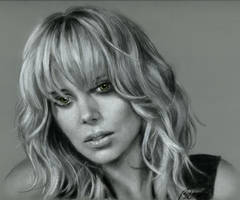 Charlize Theron by Cynthia-Blair