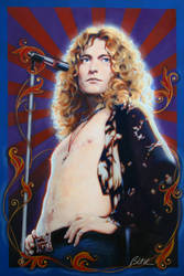 Robert Plant, Led Zeppelin by Cynthia-Blair