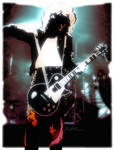 Jimmy Page, violin bow