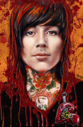 Oli Sykes by Cynthia-Blair