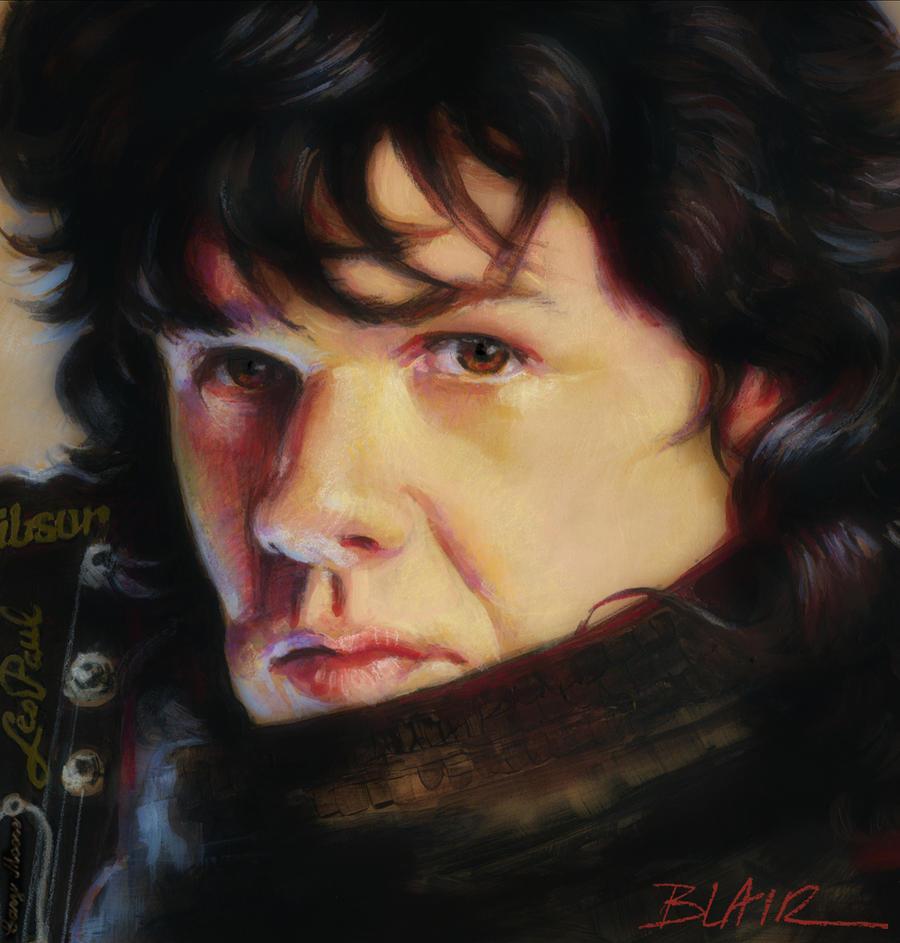 ... Gary Moore, Thin Lizzy by Cynthia-Blair - gary_moore__thin_lizzy_by_cblair-d39bmkt