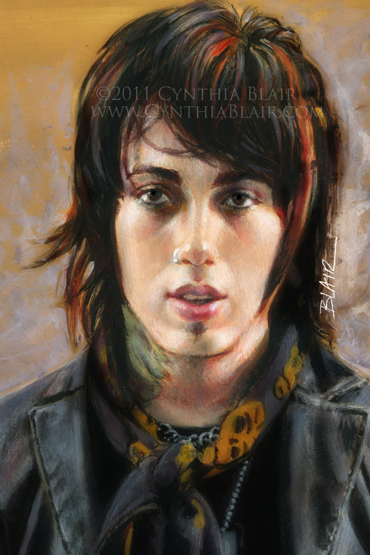 Ronnie Radke close-up ...