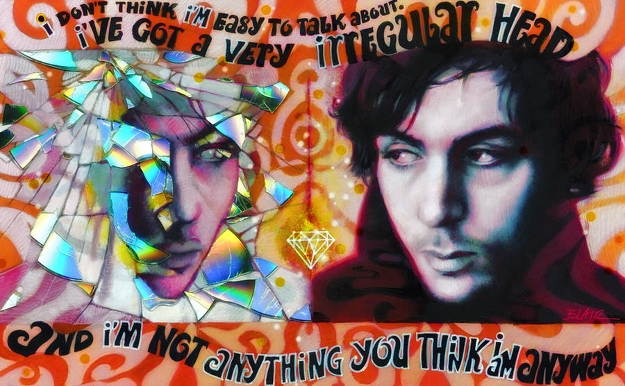 Syd Barrett by Cynthia-Blair