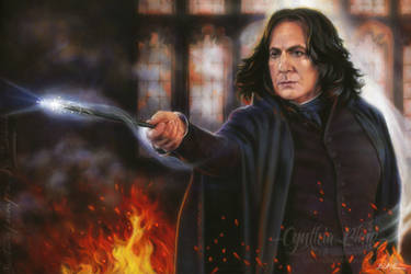 Snape: Sectumsempra by Cynthia-Blair