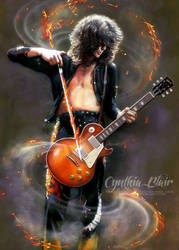 Jimmy Page, Led Zeppelin by Cynthia-Blair