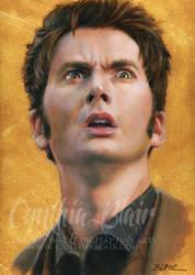 David Tennant, Dr. Who by Cynthia-Blair