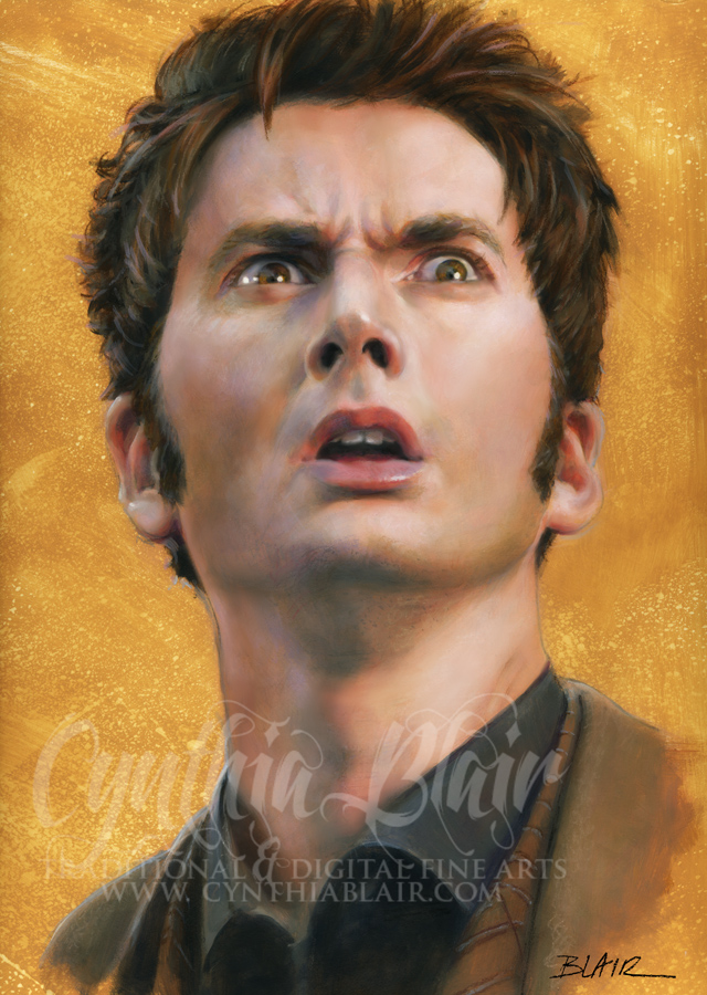 David Tennant, Dr. Who by Cynthia-Blair