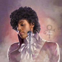 Prince: Purple Rain (tribute) by Cynthia-Blair