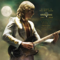 Greg Lake in tribute