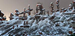 LifeSpark - Desert Frozen Ruins