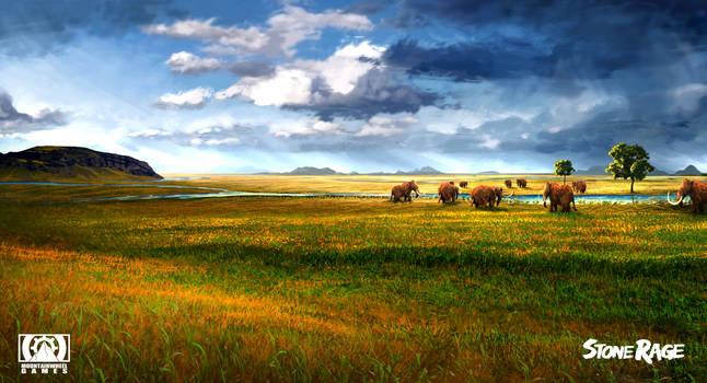 Stone Rage - Grassland by FreeMind93