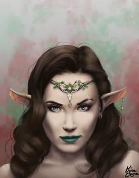 Elven Portraits: The Warrior Princess