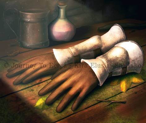 Journey to Ecrya: Gloves of the Sentry