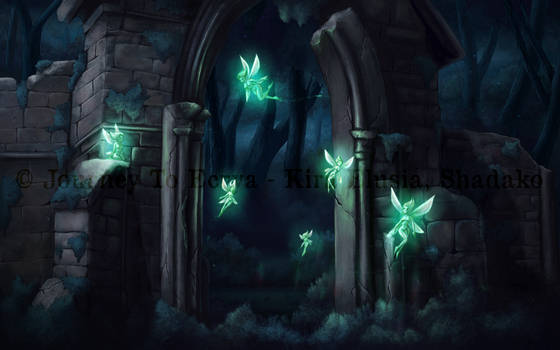 Journey to Ecrya: Flock of Sprites